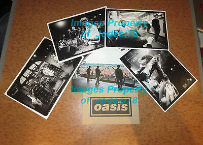 Oasis Chasing the Sun SIGNED Photo Print Porfolio Card Set PROOF Morning Story