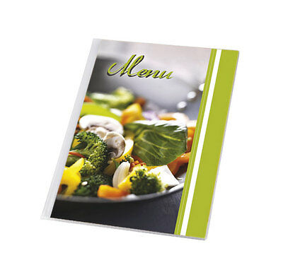 10 X MENU COVER A4 up to 12 pages menu catering holder restaurant folder PIZZA