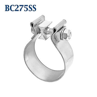 """2.75"""" 2 3/4"""" Genuine Torca AccuSeal Stainless Steel Band Exhaust Clamp AS275SS"""