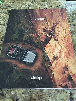 2015 Jeep Wrangler 50-page Original Sales Brochure