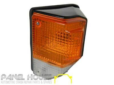 Corner Light LEFT with Black Surround Fits Toyota Landcruiser 70 75 Series 85-99