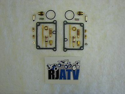 Yamaha Banshee YFZ350 CARBURETOR Carb Rebuild Kit Repair YFZ 350 2 Carbs
