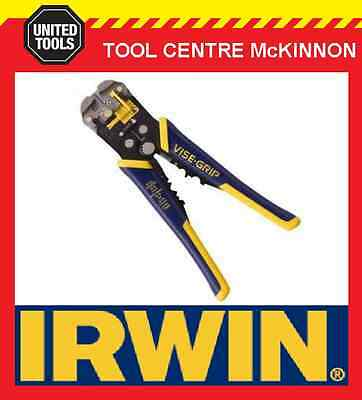 "IRWIN VISE-GRIP 2078300 8"" / 200mm SELF ADJUSTING WIRE STRIPPERS"