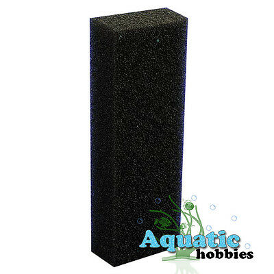 "Eshopps Black Foam Sponge Wet/Dry Filter Small 11 3/4"" Block"
