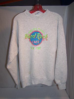Xl Hard Rock Cafe New York Save The Planet Sweat Shirt