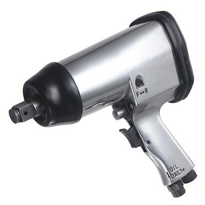 "Heavy Duty 1/2"" Drive Air Impact Wrench Ratchet Compressor Tool Silver Warranty"