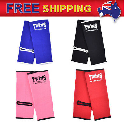 New Twins Special MMA Muay Thai Kick Boxing Ankle Guard Protector Support M-L AG