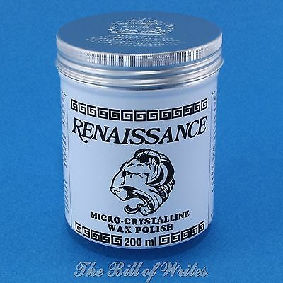 Renaissance Wax - Micro Crystalline Polish - Large Size - 200ml Tin - (7 fl. oz)