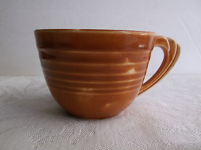 vtg 1930s Art Deco ringware pottery Edwin Knowles china Demitasse cup Yorktown