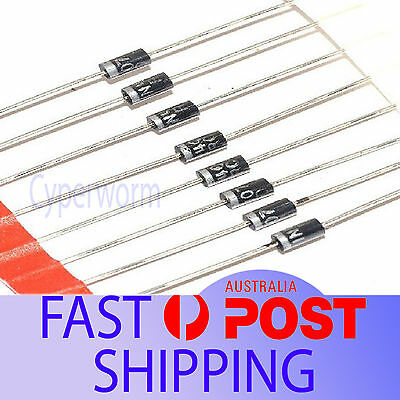 25 Pieces 1N4007 4007 1A 1000V DO-41 Rectifier Diode