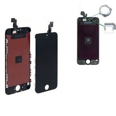 Display Schermo Iphone 5C Nero Per Apple Touch Screen Lcd Retina Vetro Frame
