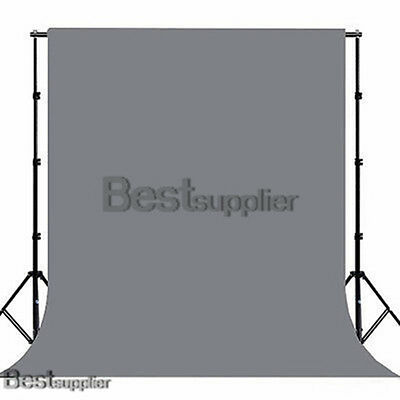 10x20ft Photograph Video Studio Chromakey Grey Screen Muslin Backdrop Background