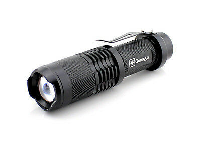 NEW Y21 1600LM Lumen CREE XML XM-L T6 LED Zoomable Waterproof Torch Flashlight