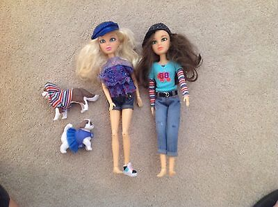 Liv Doll Lot Of 2 & pet dogs