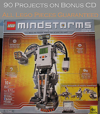 LEGO 8527 MINDSTORMS NXT 100% Complete w Bonus CD w 90 Great projects! Set  318