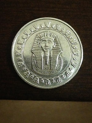 Unique Silver King TUT Egyptian pound collectable (Plated with REAL Pure Silver)