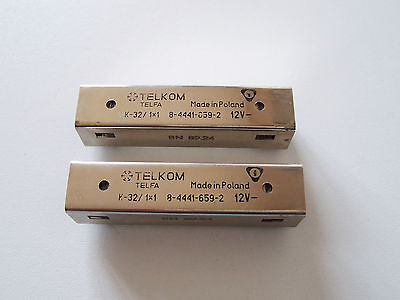 K-32/1x1 Dolam 12V DC Reed Relay Switches SPST 3A 230VAC Lot of 2