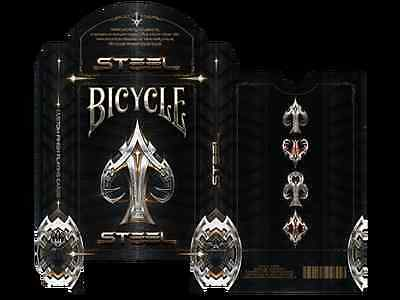 Bicycle Steel Playing Cards Deck New
