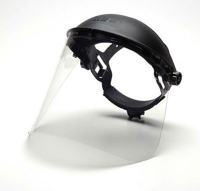 """Pyramex Clear Polycarbonate Faceshield PC Safety Shield 8""""x15"""" ANSI CSA S1020"""