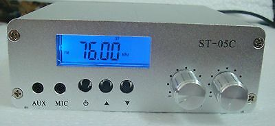 ST-05C  FM transmitter stereo pll radio broadcast 77-108MHZ 0.1W/0.5W  only host