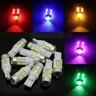 T10 6/10 LED 5630/5730 SMD Car Indicator Interior Wedge Dome Side Light Bulb US