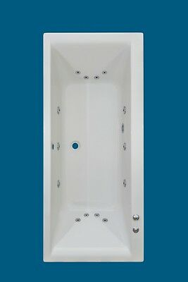 14  JET  TROJAN ELITE LARGE 1800mm | DOUBLE ENDED WHIRLPOOL |SPA |  BATH |