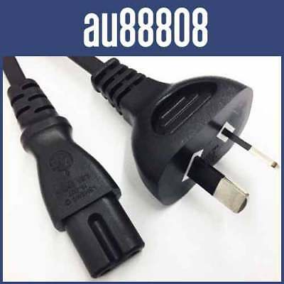 0.5M Power Cord 2 Pin Prong Plug Iec-C7 Ac Figure 8 Monitor Cable Lead Ps2 Psp