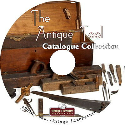 Antique Tool Catalog Collection { 59 Vintage Identification Guides } on DVD