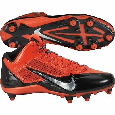 498fb9892c81b MEN NIKE PINK Black Alpha Pro TD Flywire Football Shoes Cleats ...