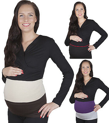 Maternity belly band belt / 2-colours /  Support band / Maternity wear  M L XL