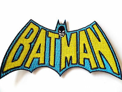 Classic Batman EMBROIDERED PATCH dc comics iron / sew on Officially Licensed