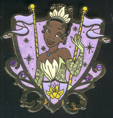 Princess Jeweled Crest Tiana Disney Pin 94267