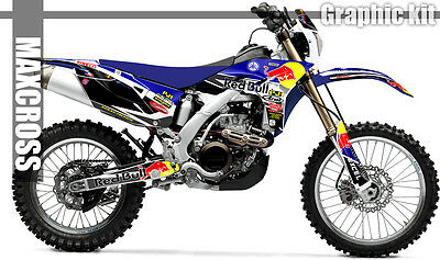 YAMAHA 2012-2014 WR450F SERIES RED BULL Style GRAPHIC KIT