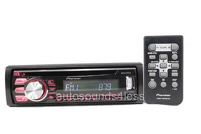 Pioneer DEH-X2700UI CD/MP3/WMA Player Android iPhone Pandora Support Front USB