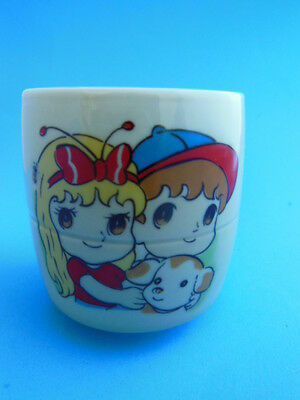 Japanese art on Porcelain 4 oz. cup