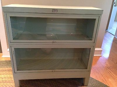 Vtg Metal Barrister Bookcase-General Fireproofing Company