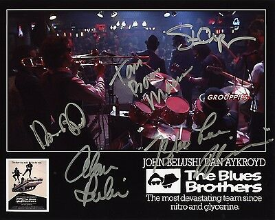"""The Blues Brothers  SIGNED 8""""X10"""" PHOTO RP"""