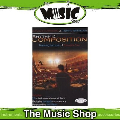 New Rhythmic Composition Music Tuition Book for Percussion & Drums