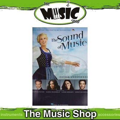 New The Sound of Music 2013 TV Event Vocal Selections Music Book