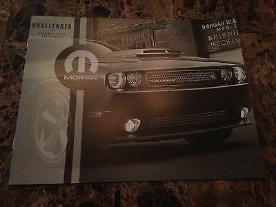 2014 Dodge Challenger Accessories 10-page Original Sales Brochure