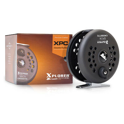 Xplorer XPC Cassette Fly Reel Xplorer Fly fishing