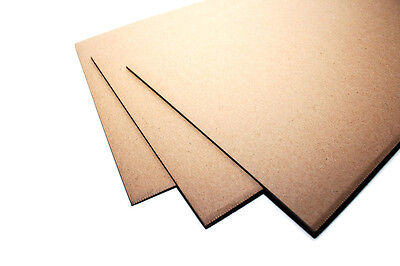 Single Wall Corrugated Thick Packing Board  2.50Mm - A4, A3, A2