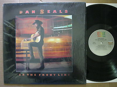 Dan Seals LP 1986 On the front line NM Columbia House PW 17231