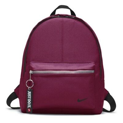 Nike Rucksack Backpack Back Pack Classic Turf Black Bag School Bag