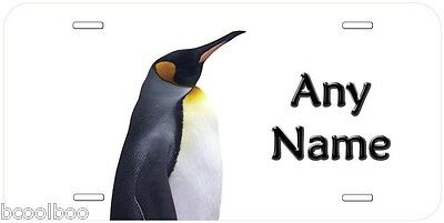 Penguin Any Name Personalized Novelty Car License Plate P02