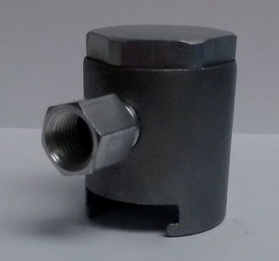 """1/8-27 NPT Giant Button Head Coupler for 7/8"""" or 22mm Grease Zerk Fitting 1 Pcs"""