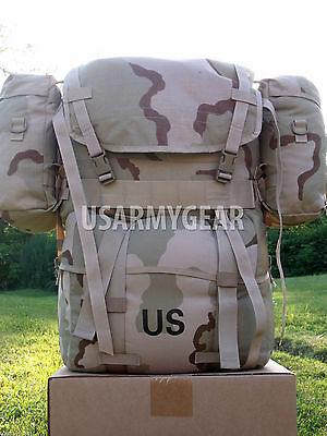 Set of 2 New Molle ll Desert 3 Color Tan Sustainment Utility Saw Ifak GI Pouches