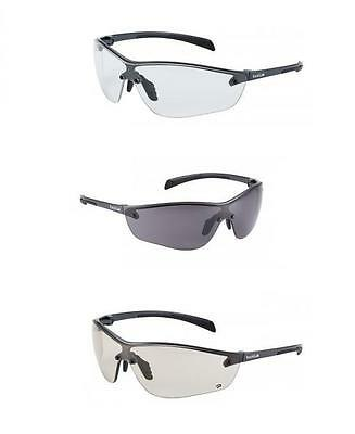 Bolle Silium+ PLUS Safety Glasses Spectacles - Clear / Smoke / CSP Lens