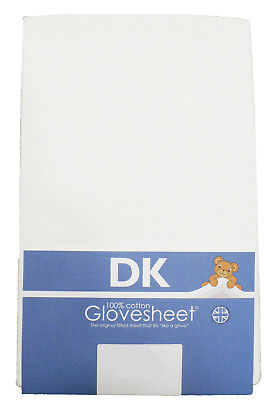 Super Soft Jersey Cotton TOP QUALITY DK Fitted Cot Sheet  120x60cm