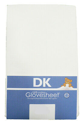 Fitted Jersey Travel Cot Sheet 119x59cm fits Most Graco, Mamas & Papas etc
